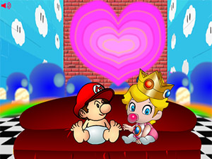 Mario Lost in Peach