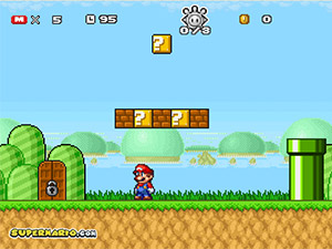 Super Mario Start Scramble 2
