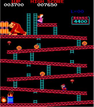 Donkey Kong Arcade Spiel